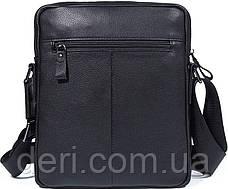 Сумка мужская Vintage 14486 Черная, Черный, фото 2