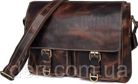Сумка мужская Vintage 14524 Коричневая, Коричневый, фото 2