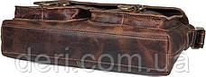 Сумка мужская Vintage 14524 Коричневая, Коричневый, фото 3