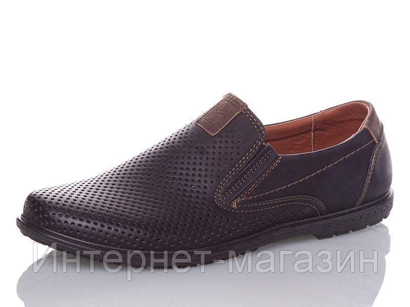 Туфли мужские Goldstar 5441-1 (40-45р) код 8024