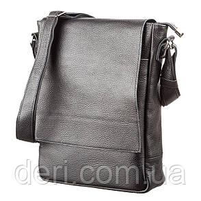 Сумка SHVIGEL 11080 из натуральной кожи Черная, Черный, фото 2