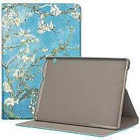 Чехол Galeo Flex TPU Print для Huawei Mediapad T5 10 (AGS2-L09) Almond Blossom