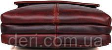 Сумка Vintage 14547 из натуральной кожи Коричневая, Коричневый, фото 2