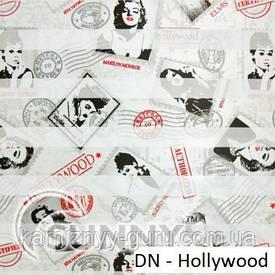 Рулонные шторы для окон День Ночь в закрытой системе Sunny с П-образными направляющими,  ткань DN-Hollywood