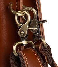 Портфель мужской Vintage 14562 из натуральной кожи Коричневый, Коричневый, фото 2
