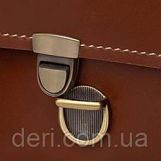 Портфель мужской Vintage 14562 из натуральной кожи Коричневый, Коричневый, фото 3