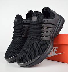 Мужские кроссовки Air Presto черные. Живое фото. Реплика