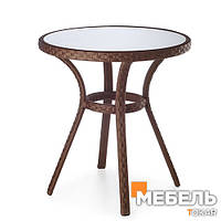 Стол из ротанга Джаз Мебель из ротанга, столы для кафе, бара, ресторана, террасы.