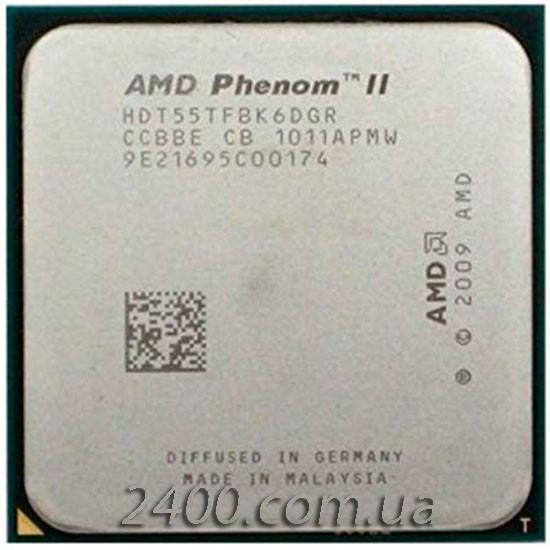 Процессор AMD Phenom II X6 1055T 2.8GHz 2000MHz (HDT55TFBK6DGR) Socket AM3 125W