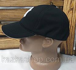 Мужская кепка New York черного цвета, материал лакоста, сезон весна-лето, большая вышивка, на регуляторе, фото 2
