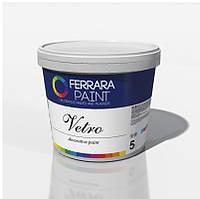 """Декоративное покрытие, штукатурка, с легким перламутровым отливом, 5л Vetro.""""Р"""" – полуматовая."""