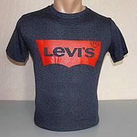 Мужская футболка спортивная хлопок М раз (J-137)