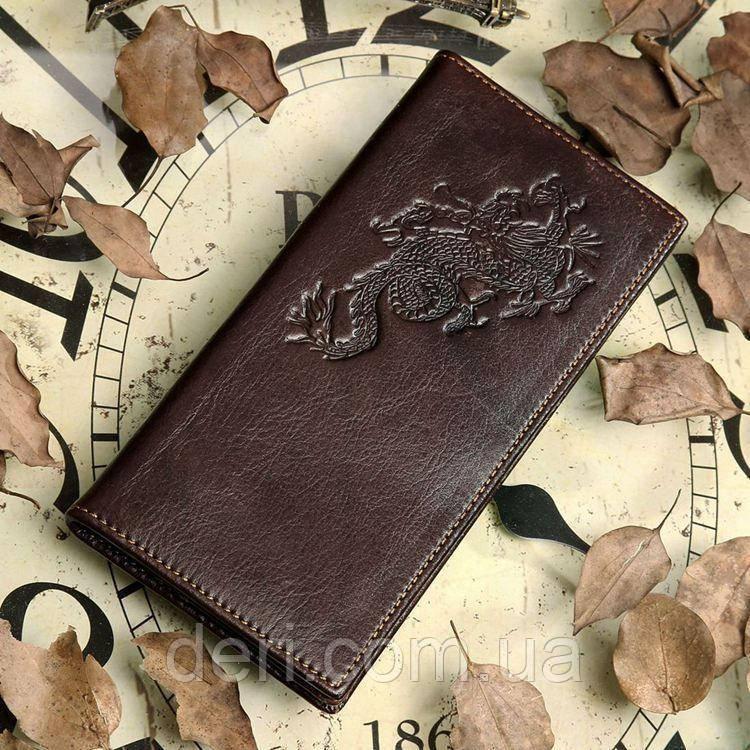 Бумажник мужской Vintage 14170 Коричневый, Коричневый