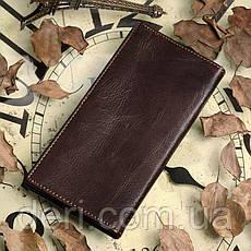 Бумажник мужской Vintage 14170 Коричневый, Коричневый, фото 2