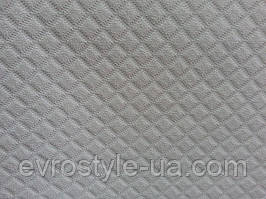 Искусственная кожа для мебели Ромб цвет белый