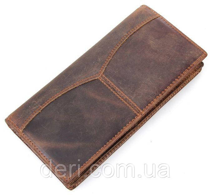 Бумажник мужской Vintage 14223 Коричневый, Коричневый