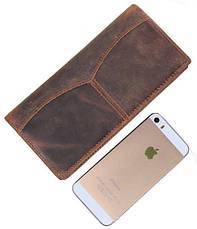 Бумажник мужской Vintage 14223 Коричневый, Коричневый, фото 3