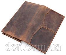 Бумажник мужской Vintage 14223 Коричневый, Коричневый, фото 2