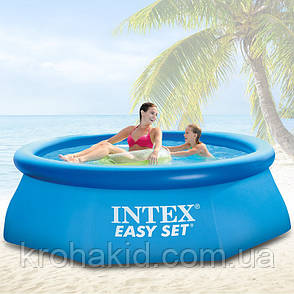 Надувной бассейн INTEX 28110 размер 244х76см, фото 2