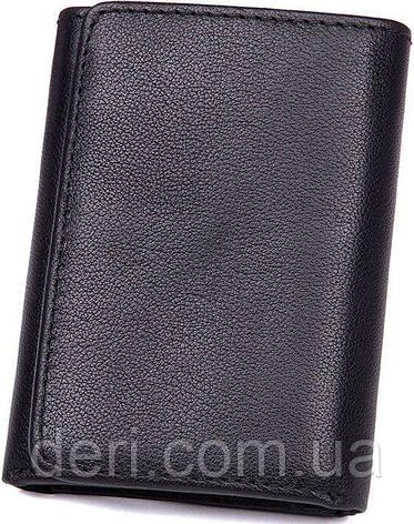 Кошелек Vintage 14467 кожаный Черный, Черный, фото 2