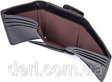 Кошелек Vintage 14467 кожаный Черный, Черный, фото 3