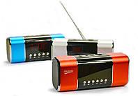 Портативная колонка HJ-91 ( Радио, Часы, Будильник), фото 1
