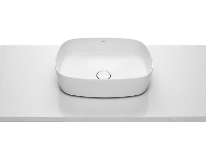 INSPIRA Soft умывальник 500*370*140мм, овальный, накладной, без отв. под смеситель, без перелива