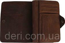 Кошелек мужской Vintage 14484 Коричневый, Коричневый, фото 3
