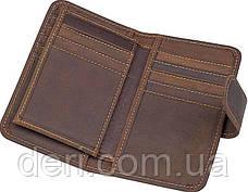 Кредитница Vintage 14483 винтажный стиль Коричневая, Коричневый, фото 2