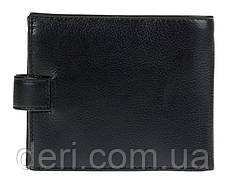 Портмоне мужское KARYA 17100 кожаное Черное, Черный, фото 2