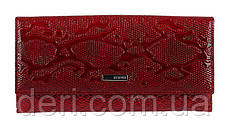 Кошелек женский KARYA кожаный Красный, Красный, фото 2