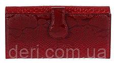 Кошелек женский KARYA кожаный Красный, Красный, фото 3