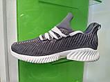 Мужские кроссовки Adidas Alpha Bounce gray, фото 4