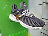 Мужские кроссовки Adidas Alpha Bounce gray, фото 5