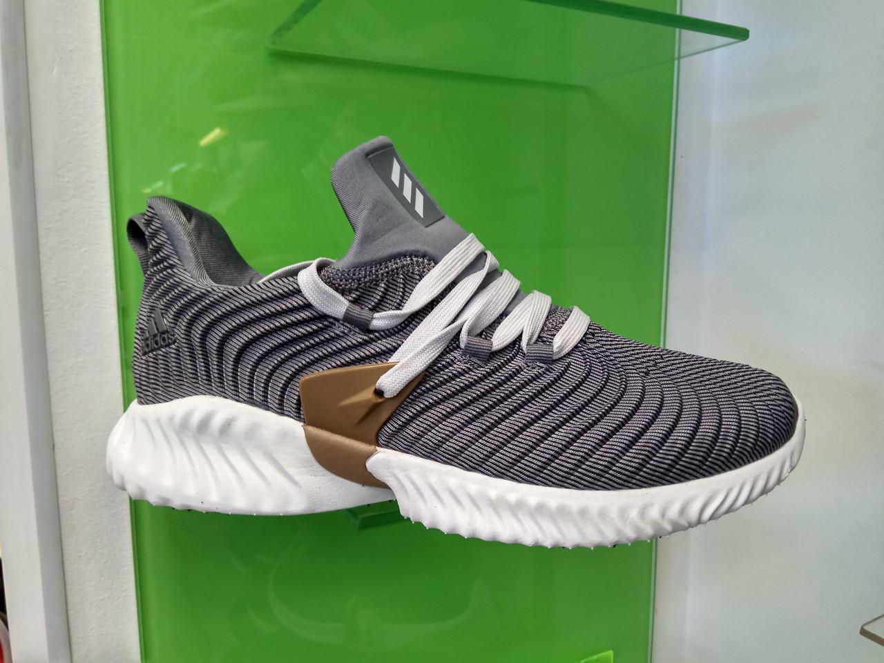 Мужские кроссовки Adidas Alpha Bounce gray