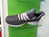 Мужские кроссовки Adidas Alpha Bounce gray, фото 6
