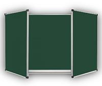Доска школьная 5-поверхностная (двухстворчатая) ТСО