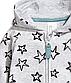 Утепленный трикотажный комбинезон с капюшоном на малышей 2 - 4 месяцев, р. 62, H&M, фото 2