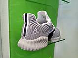 Мужские кроссовки Adidas Alpha Bounce gray white, фото 4