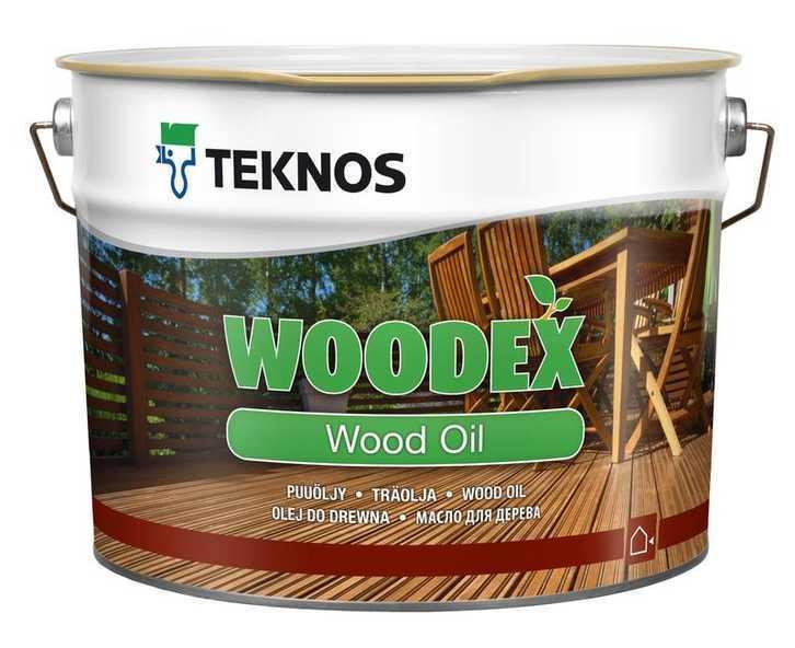 Олія для дерева Teknos Woodex Wood Oil 9л