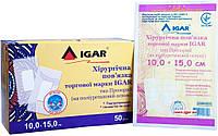 Хирургическая повязка торговой марки IGAR тип Прозрачный (на полиуретановой основе) 10.0 х 15.0