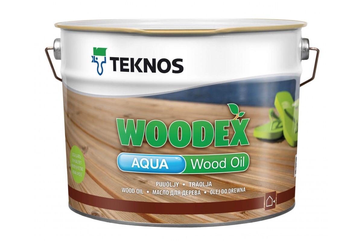Олія для дерева Teknos Woodex Aqua Wood Oil 2.7л