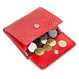 Кошелек женский KARYA 17145 кожаный Красный, Красный, фото 5
