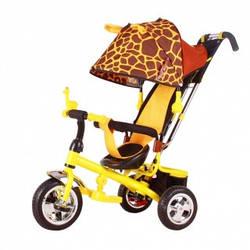 Велосипед трехколесный на надувных колесах Зоо 777 жираф, MiniTrike NEW