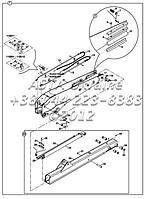 Телескопическая стрела на Hidromek 102B