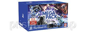 Playstation VR V2 Mega Pack - Камера и 5 игр