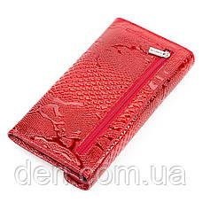 Кошелек женский KARYA 17189 кожаный Красный, Красный, фото 2