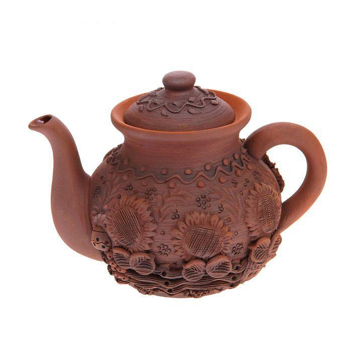 Чайник заварочный малый лепка, 1 л