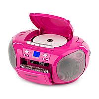 Портативный бумбокс Auna BoomGirl USB MP3 FM CD, Германия