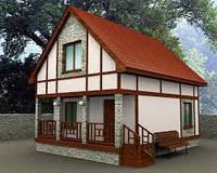 Быстрое строительство дачных домов под ключ в Днепропетровске по каркасной технологии